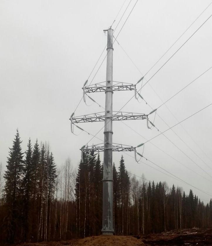 Установка лэп опор волгоград кабельный колодец кул